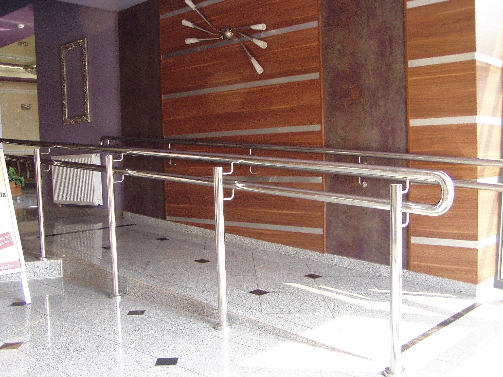 elementy do balustrad ze stali